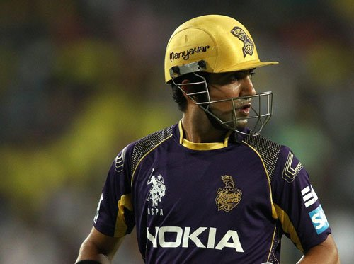Gambhir fined for showing dissent
