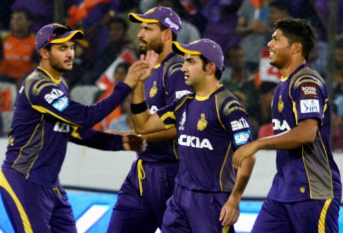 Knight Riders to field first against Super Kings
