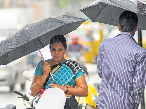 Welcome evening shower for Bangaloreans