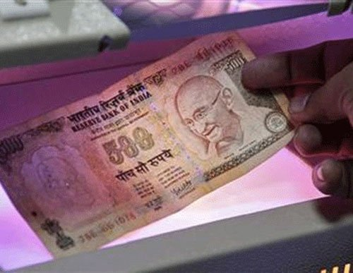 Re down 13 paise Vs dollar in early trade