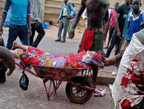 118 killed in Nigeria's twin blasts