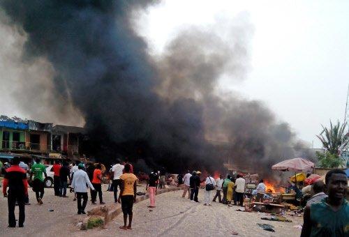 Nigeria blasts claim 162 lives