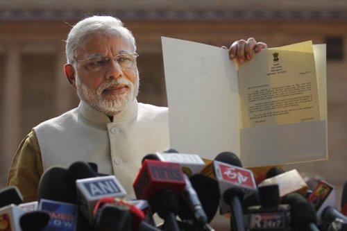 Modi invites SAARC heads for oath-taking ceremony