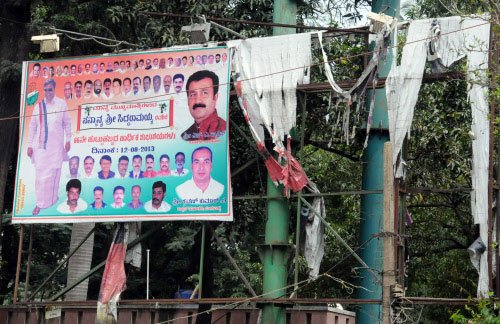 Post-LS poll results, illegal hoardings remain an eyesore