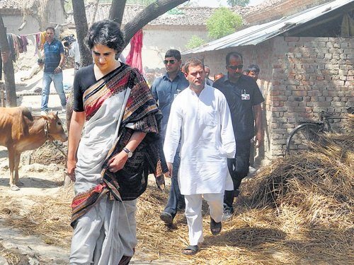 Rahul thanks Amethi for  its support