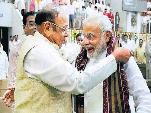 Vaghela wants Ram temple, uniform civil code