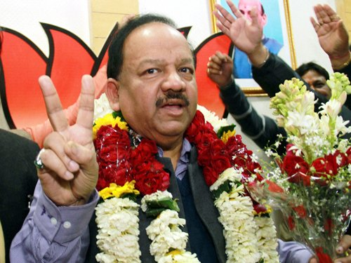 Vardhan continues to be Delhi 'CM candidate'