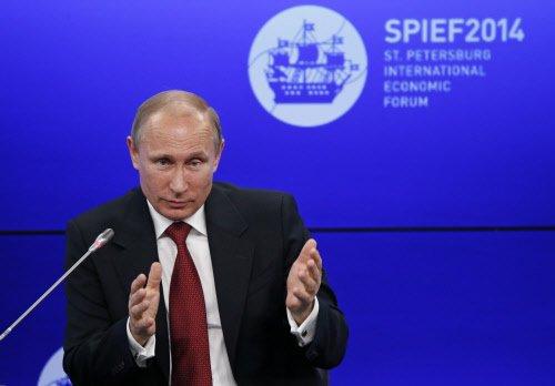 Ukraine in 'full-scale civil war': Putin