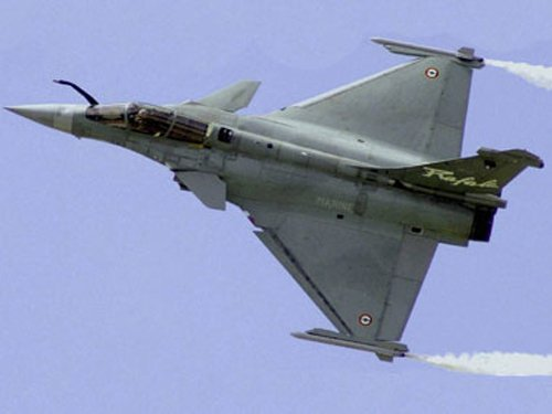 New defence minister to watch Rafale jets in action