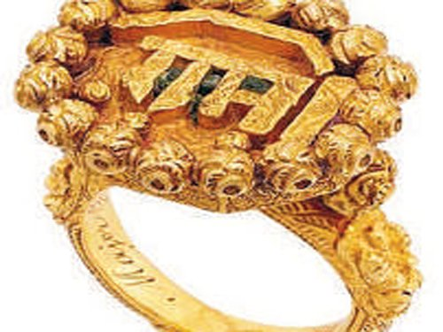 Tipu's ring sold for Rs 1.42 crore