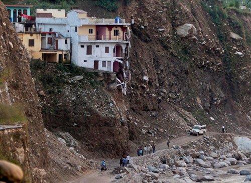 Kedarnath Yatra hit by landslides, halted
