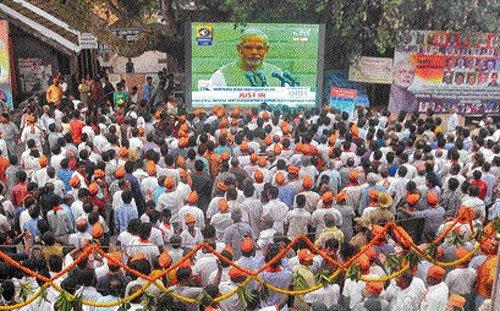 City revels in Modi coronation