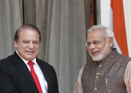 Let's open a new page in ties, Sharif tells Modi