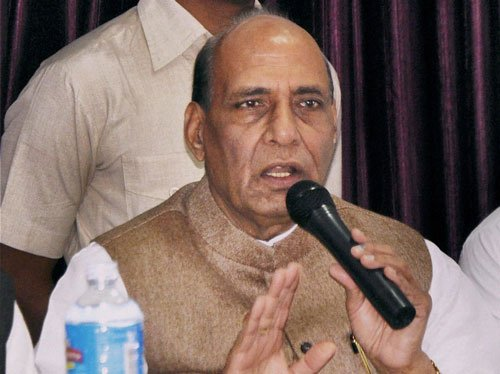 Rajnath meets RSS leaders over new BJP chief
