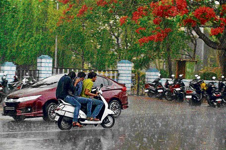 Pre-monsoon showers continue in State