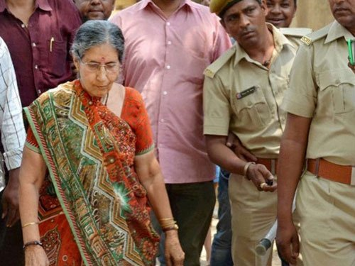 Jashodaben given police protection