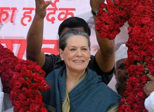 Sonia best bet for Oppn leader: Congress