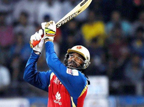 Gayle named most sensational cricketer