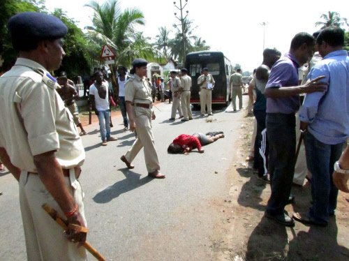 Mob justice: 2 suspected thieves beaten, paraded naked in Goa