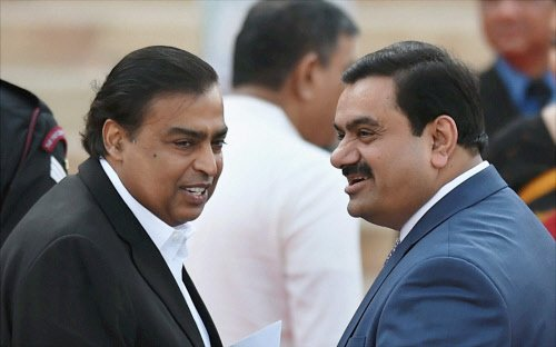 Adani group chief meets Home Minister, Home Secy