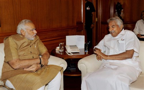 First meeting with Modi went well, says Chandy