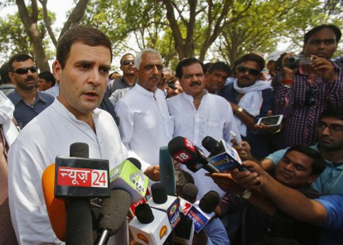 Cong defends Rahul for not taking up 'onerous' job of Oppn leader