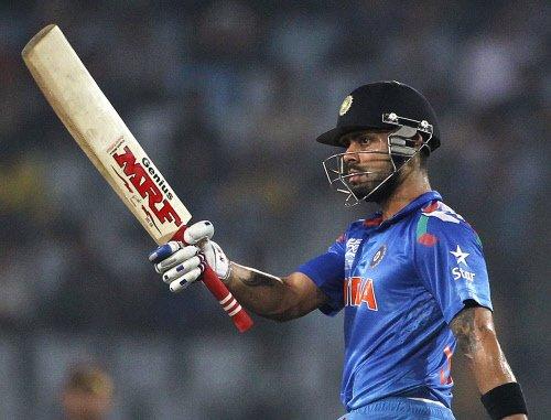 India slip to 3rd but Kohli on top in ICC ODI rankings