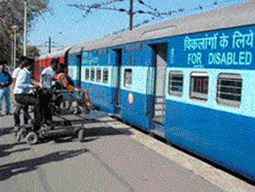 Railways indifferent towards disabled commuters' woes