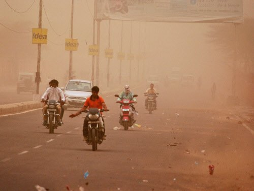 Ailments on the rise due  to high pollution levels