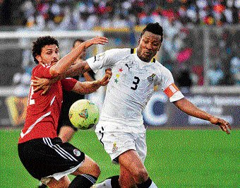 Ghana spurred on by history