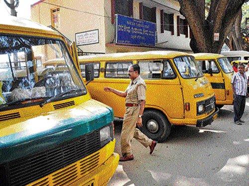 Schools take to van-tracking system big time