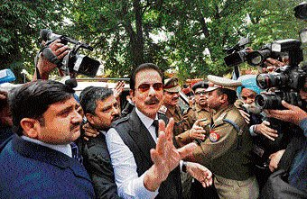 Apex court dashes Subrata Roy's hope of early release