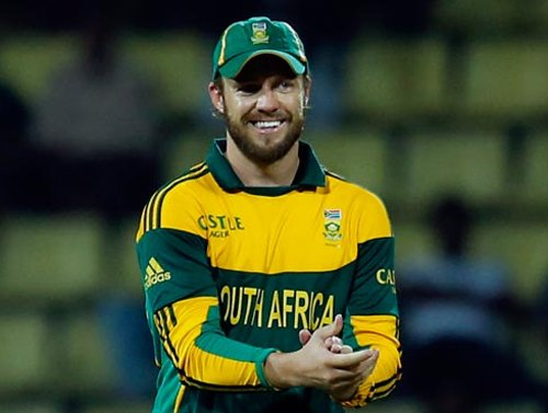 de Villiers named S African Cricketer of the Year