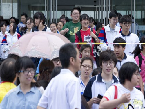 9 million Chinese students appear for national college test