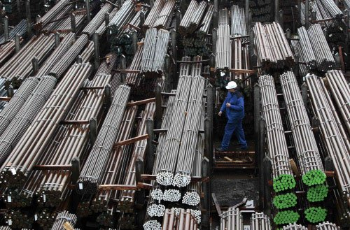 Steel usage grows by 0.5% in Apr-May