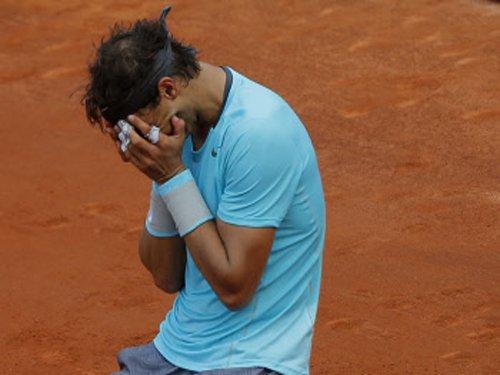 Nadal on cloud nine
