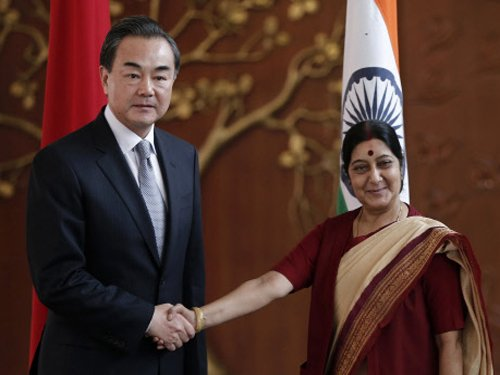 Border row, trade top Sushma-Wang talks