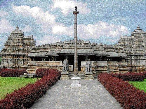 The stone marvel of Belavadi