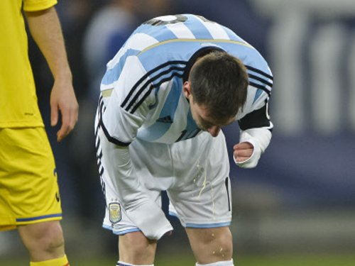 Nerves behind Messi vomiting, feels coach Sabella