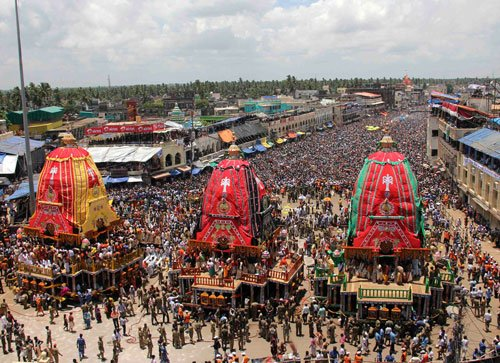 Devotees can't climb Lord Jagannath's chariot on Rath Yatra Day