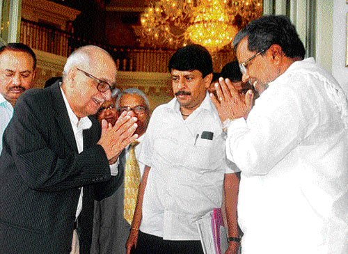 CM, Nariman discuss Cauvery Board