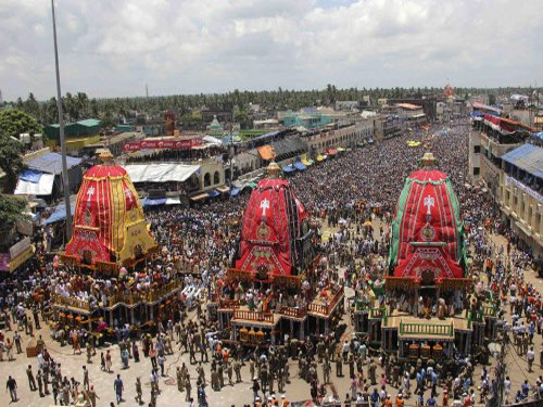 Odisha bans devotees from climbing chariot during Puri Rath Yatra