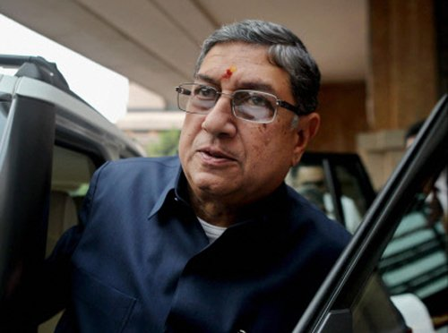 Srinivasan can contest election for ICC president: SC