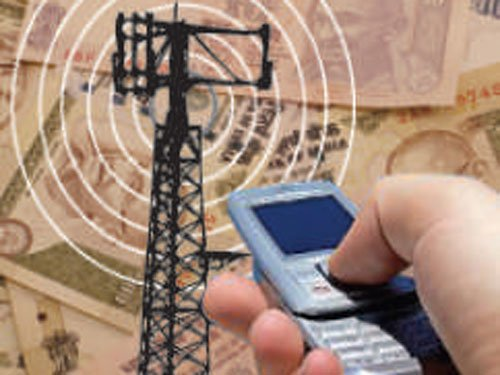 Revenue from telecom services rises to Rs 57,378 cr in Jan-Mar