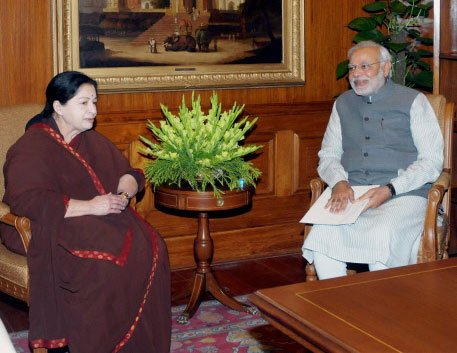 Will spare no effort for release of Indian priest,Modi to Jaya