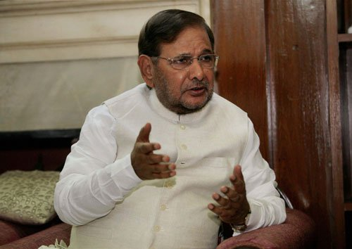 Sharad wins RS seat from Bihar; four in fray for 2 other seats