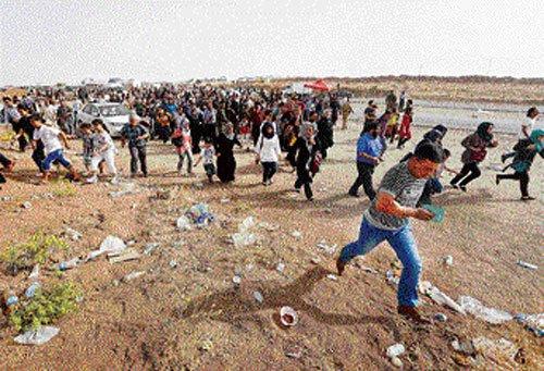 Rebels surge towards Baghdad