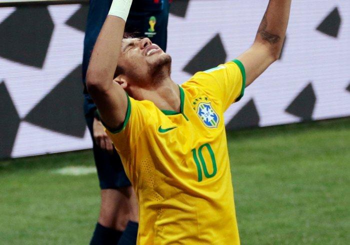 Neymar charts Brazil's way