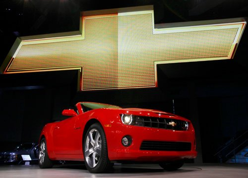 GM recalling Camaros for ignition switch problem