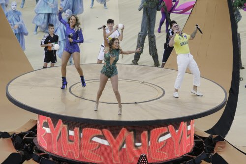 Brazil puts up colourful show